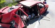 Gümüşhanede trafik kazası: 6 yaralı