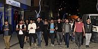 Gümüşhanede öğrencilerden 'Atakan eylemi