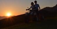 Zigana#039;da ATV ile güzelliklerin kalbine yolculuk