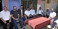 Başkan Çimen#039;den şehit öğretmen Necmettin Yılmazın ailesine taziye ziyareti