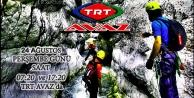 Rektör Zeybek, 'Tabiatın Sınırında Zinav Kanyonu Belgeseliyle TRT Avazda