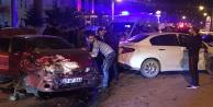 Gümüşhanede zincirleme trafik kazası