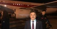 Ankaradan Cumhurbaşkanı Erdoğan ile döndü