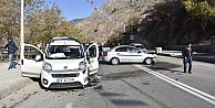 Gümüşhanede trafik kazası: 7 yaralı