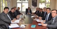 İlçe Milli Eğitim Müdürleri ile değerlendirme toplantısı yapıldı