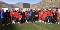 Başkan Çimen, Gümüşhanespor#039;un antrenmanını ziyaret etti
