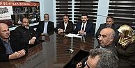 Başkan Çimen, AK Parti Yönetim Kurulu Toplantısına katıldı