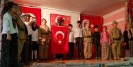 Tekke köyünde 'Çanakkale Geçilmez! oyunu sahnelendi