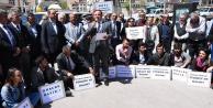 CHPden Gümüşhanede 'OHAL için oturma eylemi