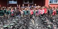 Kelkit#039;te 23 Nisan#039;da Çocuklara 409 Bisiklet