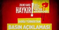 AGD Doğu Türkistan için meydanlarda