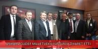 Ankara GÜDEF Milletvekili Üstünü Ziyaret Etti