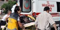 Asker ziyaretine giden aile kaza yaptı: 4 yaralı