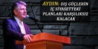 Aydın: Dış Güçlerin İç Siyasetteki Planları Karşılıksız Kalacak