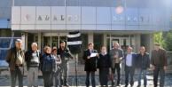 CHP Gümüşhanede Adliyeye Siyah Çelenk Bıraktı