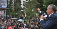 CHP Yalova Milletvekili Muharrem İnce Gümüşhanede