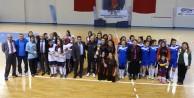 Futsalda şampiyon Kız Meslek Lisesi oldu