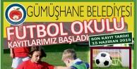 Gümüşhane Belediyesi 'Yaz Futbol Okulu Açacak