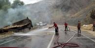 Gümüşhane İtfaiyesi 118 yangına müdahale etti