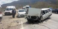 Gümüşhanede Trafik Kazası: 5 Yaralı