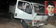Gümüşhane'de Üzüm Yüklü Kamyonet Kaza Yaptı: 1 Yaralı