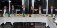 Gümüşhane'de Vali Yardımcılarına Veda Yemeği