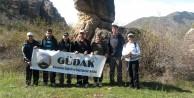 Gümüşhaneli Dağcılar Şehri Çevreleyen Dağlarda Yürüdü