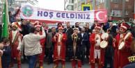 İstanbulda Şehitlere Saygı Yürüyüşü Yapıldı