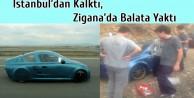 İstanbul'dan Kalktı, Zigana'da Balata Yaktı
