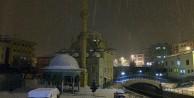 Kelkitte kar yağışı başladı