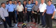 Köse Belediyesi itfaiye ekibine kurtarma seti