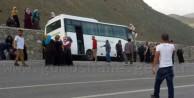 Kız Kur'an Kursu Öğrencilerini Taşıyan Otobüs Pöske Dağında Kaza Yaptı: 4 Yaralı