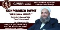 Mehmet Talu Hoca Gümüşhaneye Geliyor