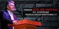 Milletvekili Aydın: Türkiye Sivil Bir Anayasa İle Ayağındaki Prangalardan Kurtulmalı