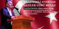 Milletvekili Aydın'dan Gaziler Günü Mesajı