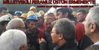 Milletvekili Üstün Ermenekte Mahsur Kalan Madencilerin Ailelerini Ziyaret Etti