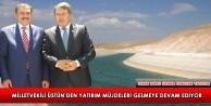 Milletvekili Üstün'den Yatırım Müjdeleri...