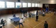Okullar Arası Masa Tenisi Müsabakalarına rekor katılım