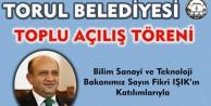 Torul'da toplu açılış programı düzenlenecek