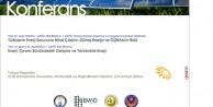 Türkiyenin enerji sorunu ve yenilenebilir enerji Gümüşhanede konuşulacak