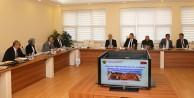 Üniversitede Güvenlik Koordinasyon Toplantısı yapıldı