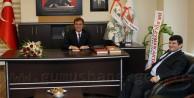 Vali Maydadan, Başkan Çimene Ziyaret
