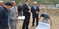Vali Yavuz inşaatları denetledi
