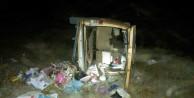Pöske dağında kaza: 8 yaralı
