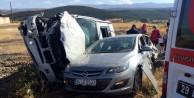 Şiran'da trafik kazası: 1 ölü, 3 yaralı