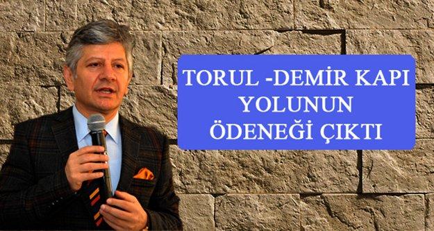 Torul Demirkapı Yolunun Ödeneği Çıktı