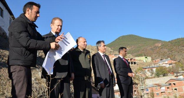 Vali Yavuz, Çevre Yolu Çalışmalarını Denetledi