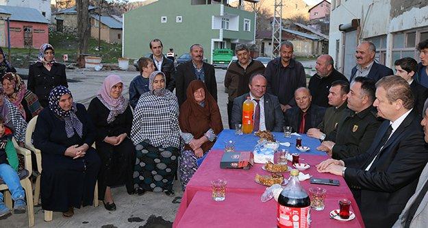 Vali Yavuz'dan Kale Köyü'ne Ziyaret