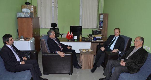 Vali Yavuz'dan Konsey ve Cemiyete Ziyaret
