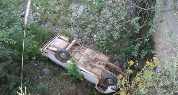 Yalınkavakta trafik kazası: 4 yaralı